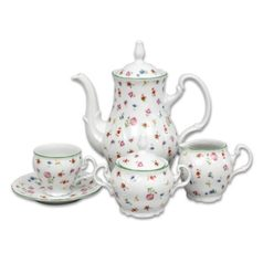 Coffee set for 6 pers., Thun 1794 Carlsbad porcelain, BERNADOTTE 7570a57