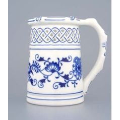 Beer Jug perforated 0,40 l, Original Blue Onion Pattern