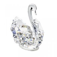 Small Swan 36 x 44 mm, Crystal Gifts and Decoration PRECIOSA