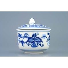 Sugar bowl 0,20 l, lid with hole for spoon, Original Blue Onion pattern