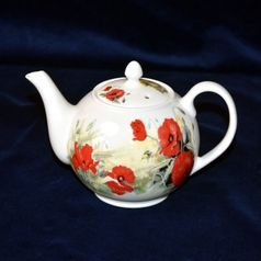 Poppy: Teapot 0,9 l, Roy Kirkham, Fine Bone China