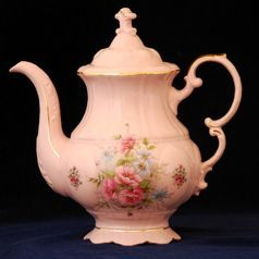 Coffee pot 1,15 l, Leander, rose china