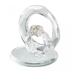 Crystal Poetry - card holder 45 x 40 mm, Crystal Gifts and Decoration  PRECIOSA