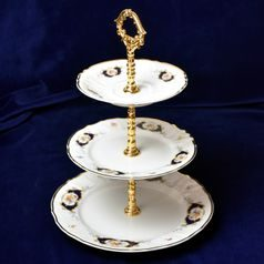 Compartment dish 3 pcs., Thun 1794 Carlsbad porcelain, Bernadotte Arms