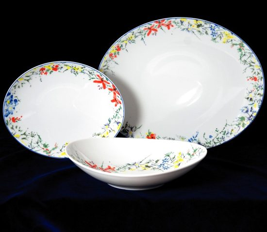 330286: Compot set for 6 pers. 6 osob, Thun 1794, Carlsbad porcelain, Loos