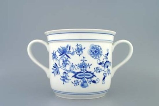 Mug Czech big with 2 handles 3,0 l, Original Blue Onion Pattern
