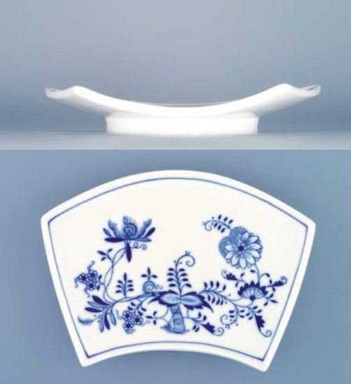 Bowl Fan / flat 19,4 x 13,0 cm, Original Blue Onion Pattern