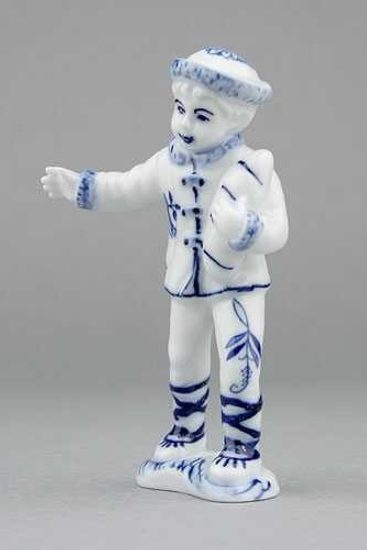 Boy 10,8 cm, Original Blue Onion Pattern