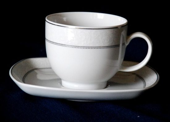 Coffee cup and saucer 0,21 l, Scala 45060, Seltmann