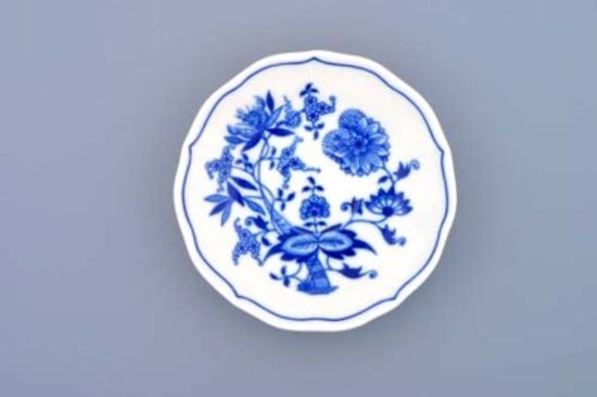 Saucer mirror ZA/1 13 cm, Original Blue Onion Pattern