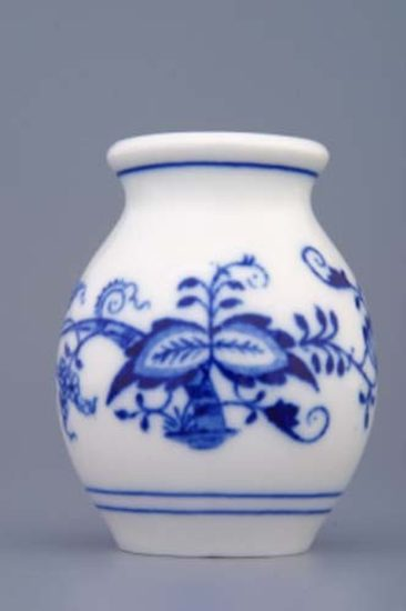 Vase 1209 7 cm, Original Blue Onion Pattern
