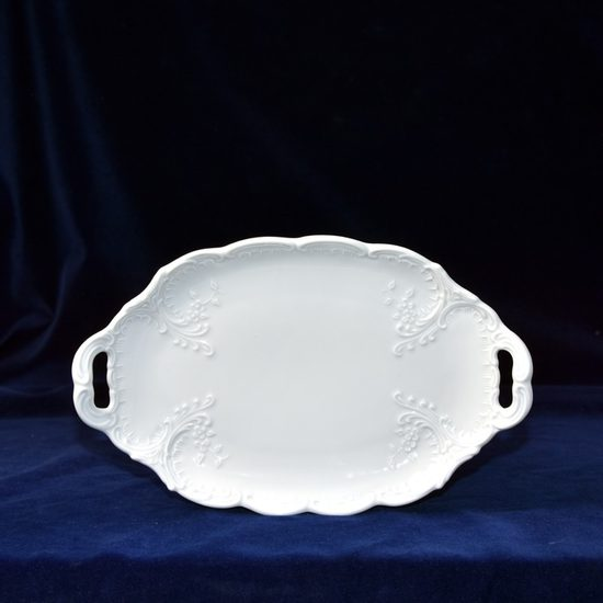 Tray with handles small 25 cm, Opera white, Cesky porcelan a.s.