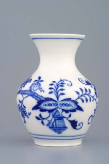 Vase 2544/1 10 cm, Original Blue Onion Pattern