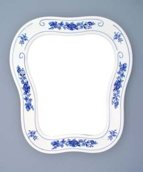 Mirror wall 40 x 37 cm, Original Blue Onion Pattern