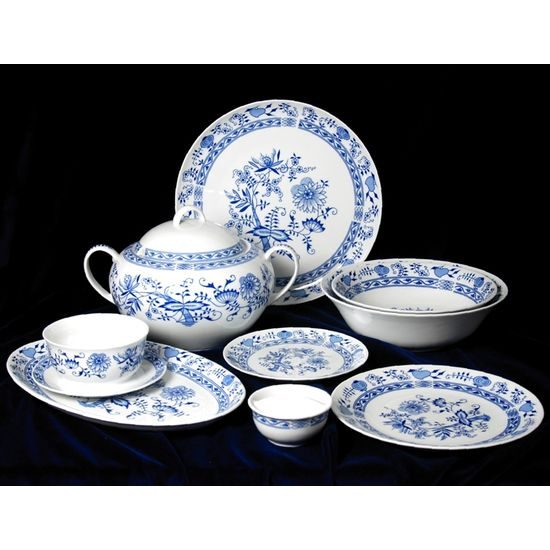 Dining set for 6 persons, Henrietta, Thun 1794 Carlsbad porcelain