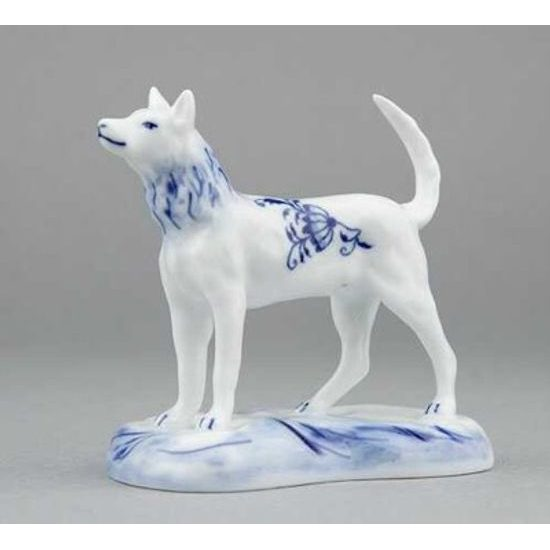 Dog 6 cm, Original Blue Onion Pattern