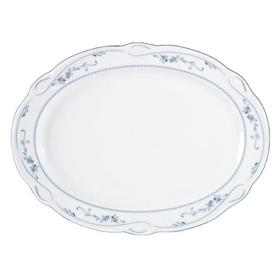 Platter oval 31 cm, Desiree 44935, Seltmann Porcelain