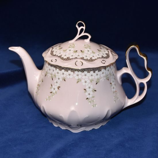 Tea pot 1,1 l, Jarmila 245, Rose China