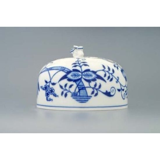 Cheese box oval (upper part) 13 cm, Original Blue Onion Pattern