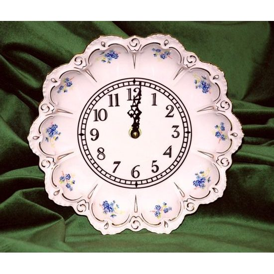 Clock wall 25 cm, Lenka 247p, Rose China