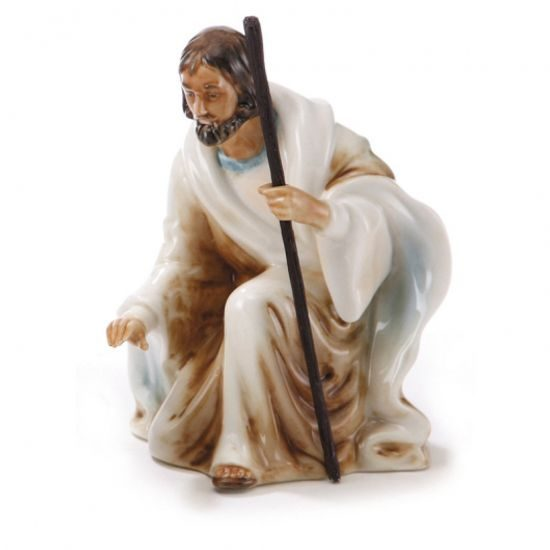 Divinity nativity fig. Joseph h=12cm, Porcelain FRANZ