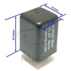 Flasher relay JMP electronic 12V 3 pole
