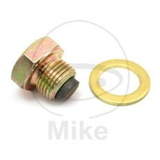 Magnetic oil drain plug JMP M14X1.25 with washer