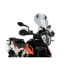 Windscreen PUIG TOURING WITH VISOR 3588H smoke