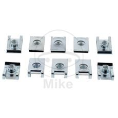 Speed nuts JMT M6 Pack contains 10 pieces