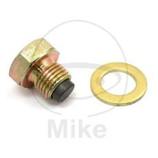 Magnetic oil drain plug JMP M12X1.25 with washer