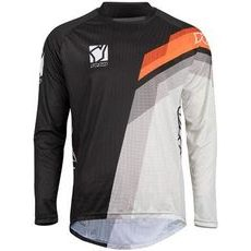 MX jersey kids YOKO VIILEE black / white / orange S