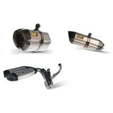 Full exhaust system 1x1 MIVV SUONO KT.016.L9 steel black