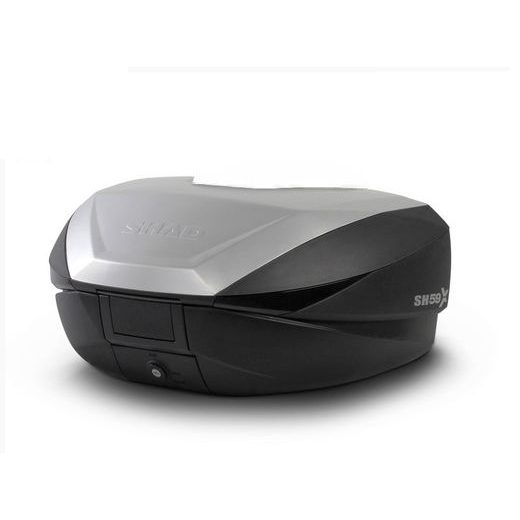 TOP CASE SHAD SH59X D0B59200 BLACK WITH ALUMINIUM COVER (EXPANDABLE CONCEPT) WITH PREMIUM SMART LOCK