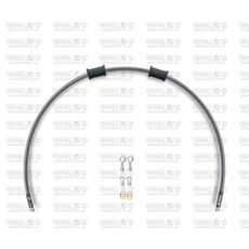 Set cevi za sklopko Venhill POWERHOSEPLUS DUC-9020C (1 cev v kompletu) Clear hoses, chromed fittings