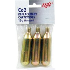 CO2 cartridge with thread WAG 588080190 16gr (1 pieces)