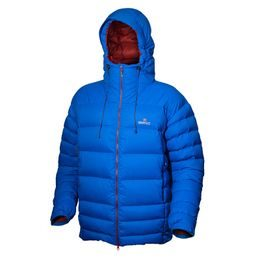 Bunda Warmpeace Alaskan  (peří) direct blue/mars red
