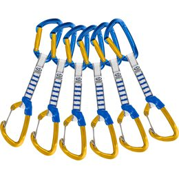 Set expresek Climbing Technology Berry Blue/Ocra NY 12 cm set (6 ks)