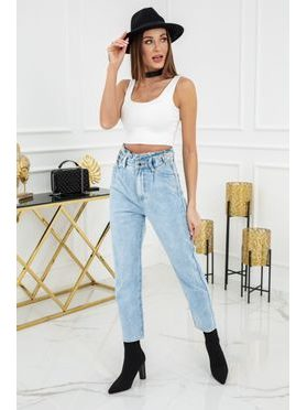 Mom Loose Fit High Jeans