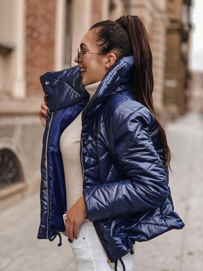 Prošívaná bunda krátká