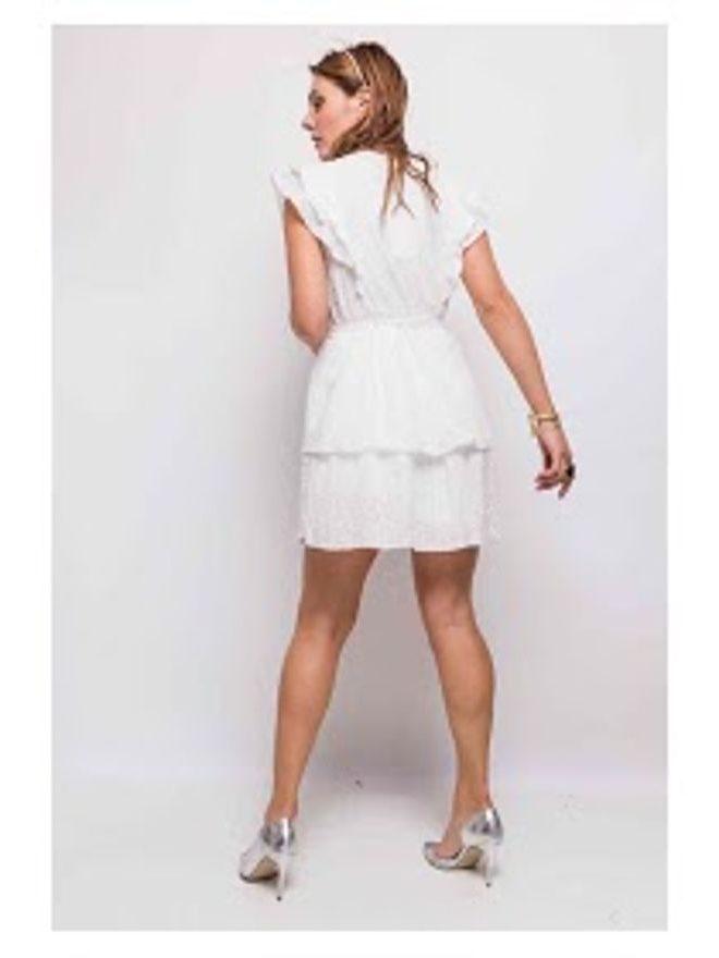 Boho šaty s volánky