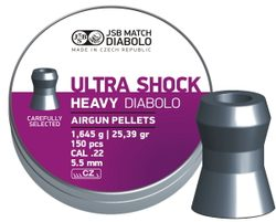 Diabolky JSB Ultra Shock Heavy 5,52mm 150ks