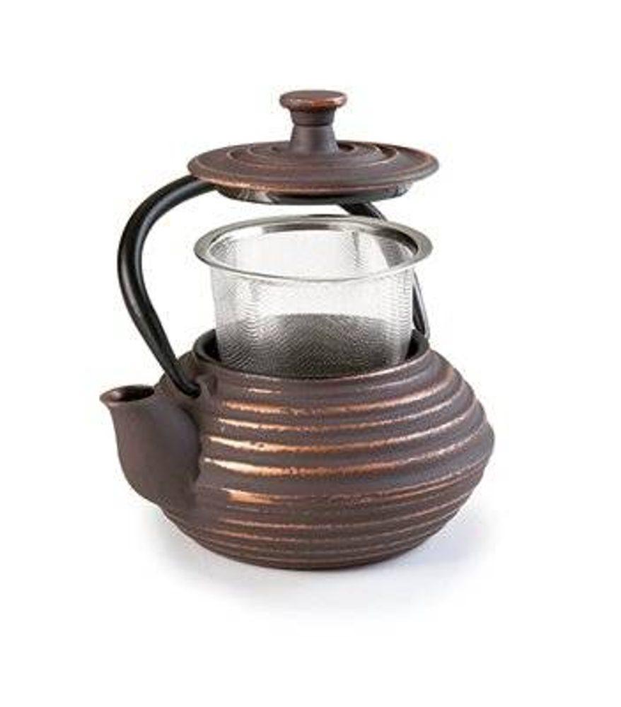Ibili Litinová konvička na čaj Kuta 300 ml