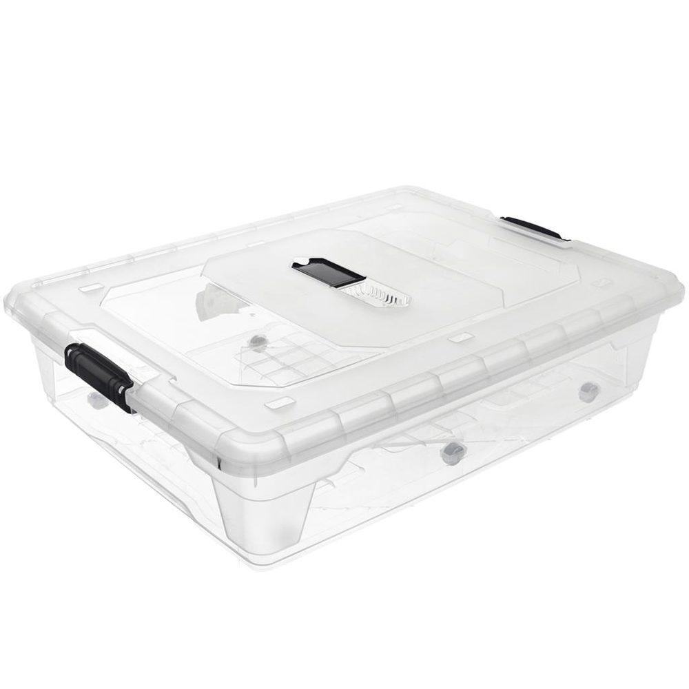 Hobby Life Box plast multi obdélník nízký kolečka 55 l