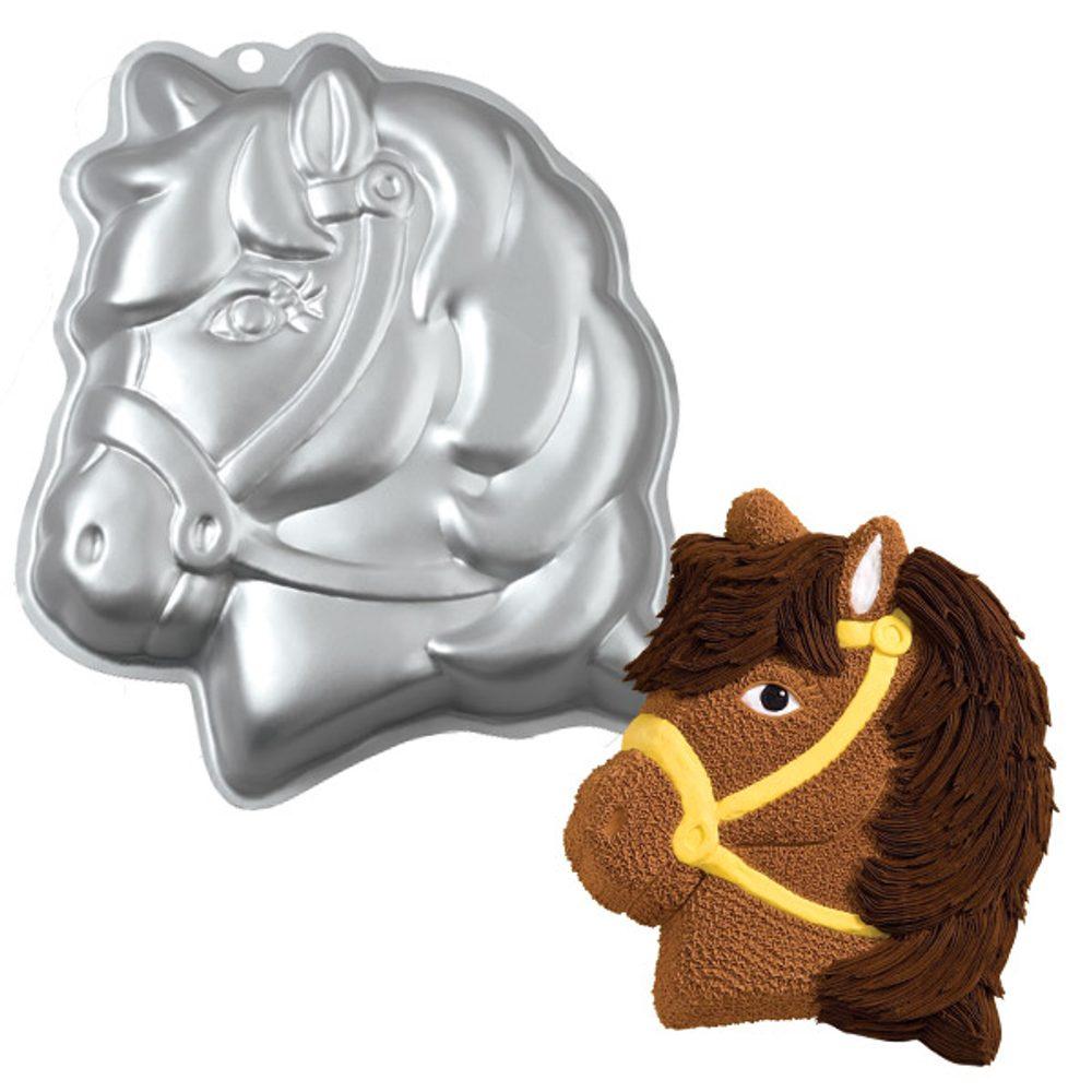 Wilton Dortová forma Hlava poníka 3D