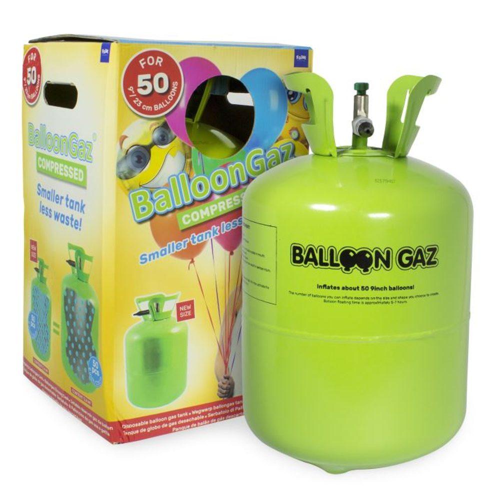 FOLATHEL Helium do balónků jednorázová nádoba 420 l (cca 50 balonků)