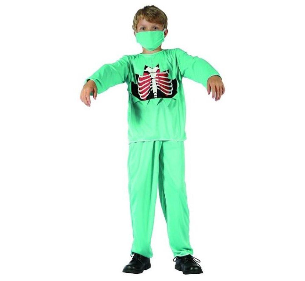 GoDan Kostým pro děti Doktor Zombie 120/130 cm