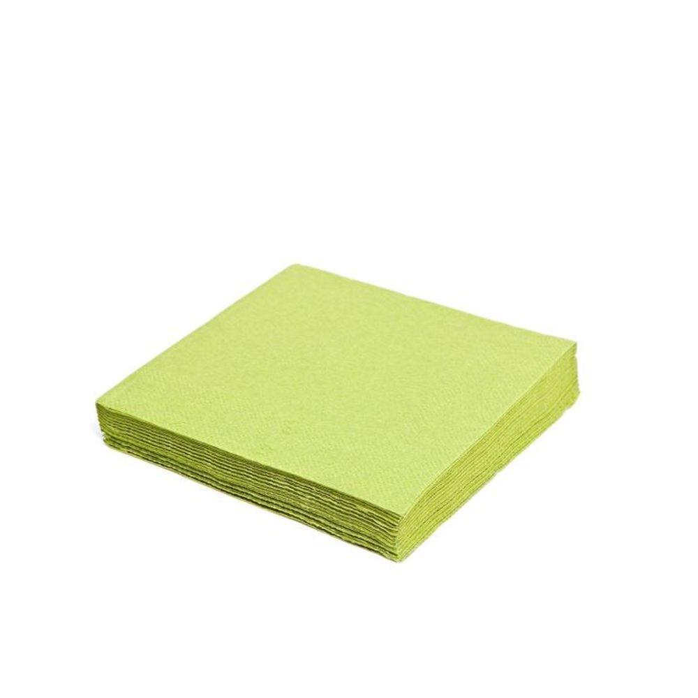 Levně MAZUREK Ubrousek 33x33 cm žlutozelený třívrstvý PARTY