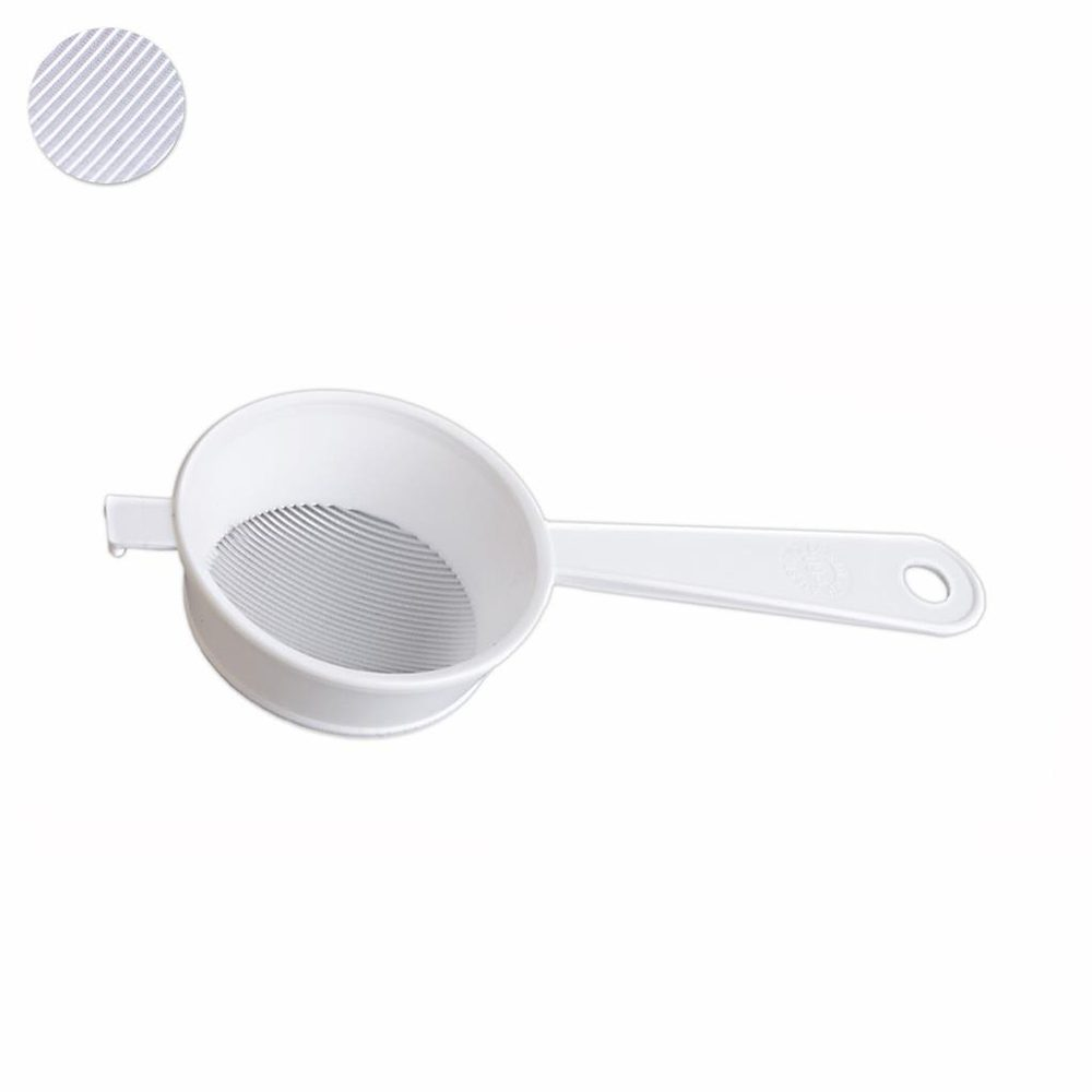 Levně ORION domácí potřeby Cedník plast WHITE jemný pr. 9 cm