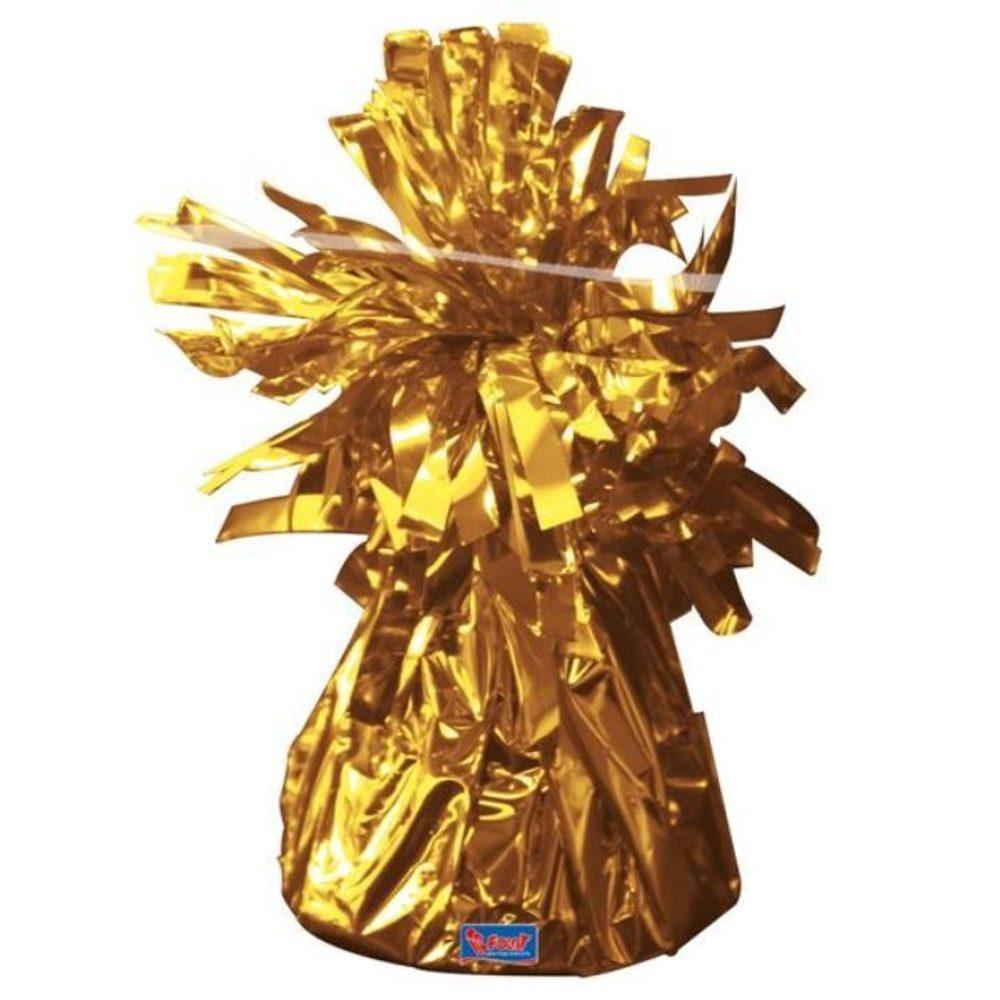 Folat Závaží zlaté - Těžítko na balonky 160 g