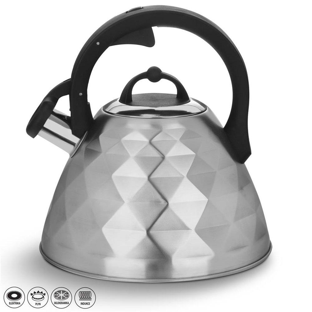 Čajník s píšťalou MATT 3,4 l